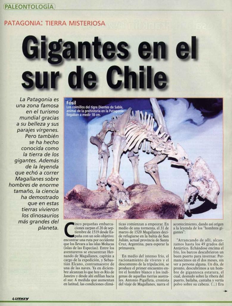 muy interesante reportaje gigantes patagonia