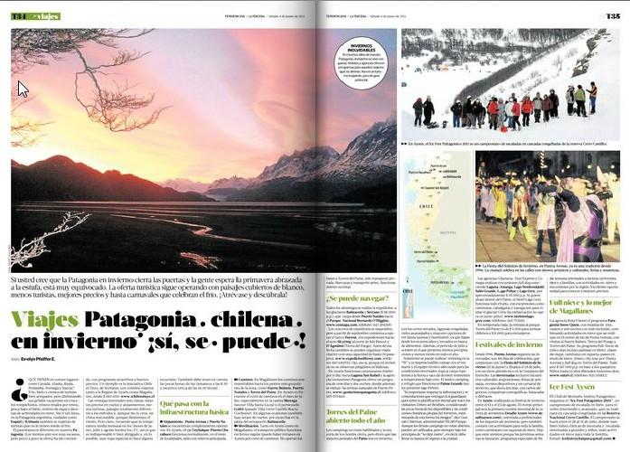 patagonia chilena en invierno